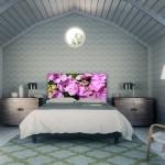 4-model tablie pentru capul patului imprimeu imagine florala Noyo Home