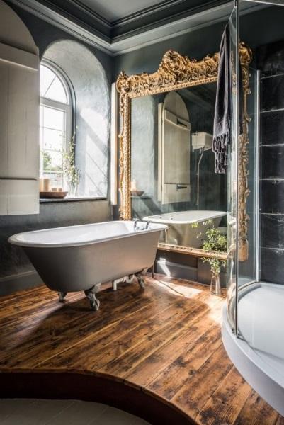 4-oglinda mare amenajare baie stil antique