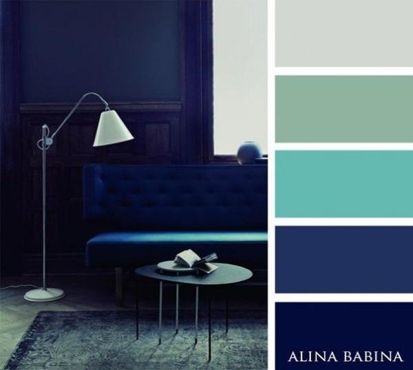 4-paleta cromatica indigo bleu si verde mentolat