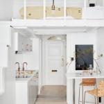 4-pat construit deasupra bucatariei dintr-o garsoniera