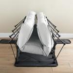 4-pat extensibil Ez-Bed care se extinde odata cu umflarea saltelei gonflabile
