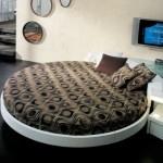4-pat rotund amenajare dormitor mare