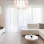 4-perdele vaporoase decor fereastra living modern minimalist