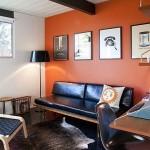 4-perete-de-accent-zugravit-in-portocaliu-living-cu-accente-vintage