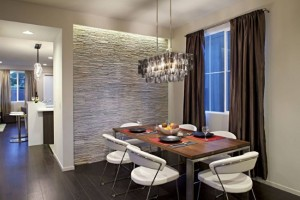 4-perete loc de luat masa finisat cu piatra naturala idei amenajari interioare