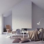 4-pereti din caramida vopsita in alb interior living modern accente vintage