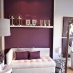 4-pereti mov si mobila alba decor living modern