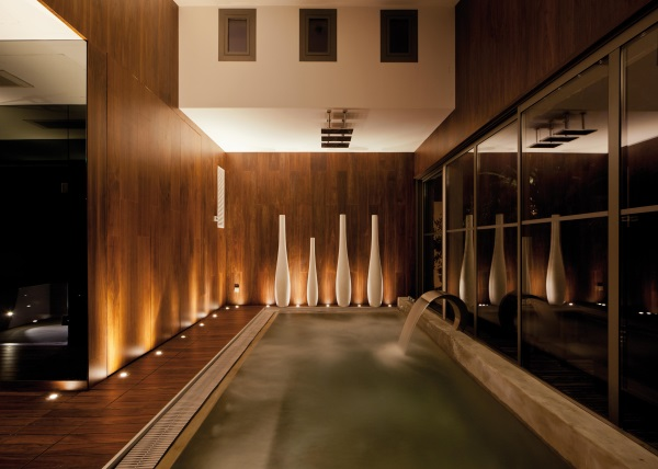 pereti piscina placati panouri lemn stratificat