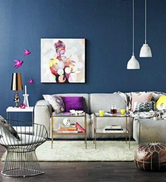4-pernute colorate mov si accente cromatice galbene decor de inspiratie primavaratica