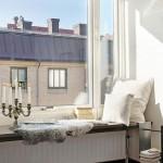 4-pervaz lat deasupra caloriferului de sub fereastra loc de relaxare