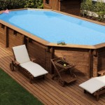 4-piscina supraterana din lemn imprejmuita cu dusumea din lemn de exterior