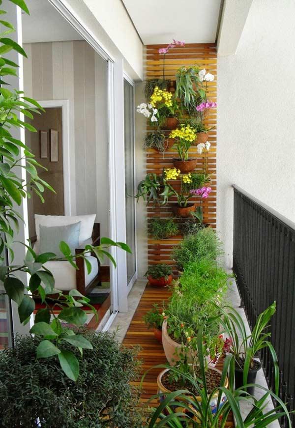 plante verzi balcon mic si ingust