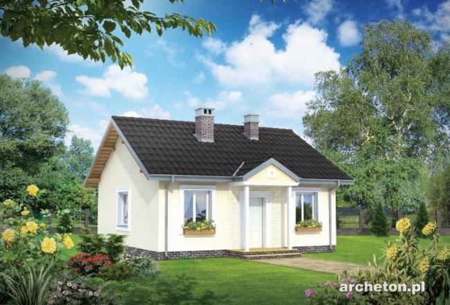 4-proiect casa mica 53 mp vedere frontala