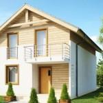 4-proiect casa mica cu mansarda 4 dormitoare 110 mp