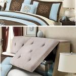 4-rafturi ascunse in panoul de la capul patului din dormitor