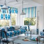 4-rolete textile asortate cu canapeaua din living