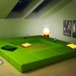 4-saltea relaxare sau zona de conversatie mobilier modular Multiplo