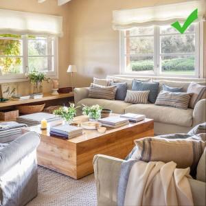 4-senzatie de confort oferita de pernutele decorative de pe canapea
