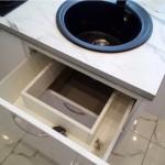 4-sertar cu spatiu pentru sifon chiuveta amenajare bucatarie mica 5 mp