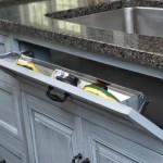 4-sertar in masca de sub chiuveta pentru depozitarea buretilor de vase
