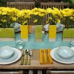 4-serviciu de masa din ceramica divers colorata