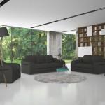5 seturi de canapele si fotolii cu design modern. Imagini si preturi