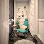 4-spatiu de relaxare si lectura amenajat intr-un balcon mic si ingust
