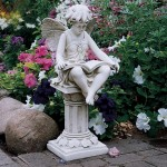 4-statueta de gradina pentru o curte mediteraneana