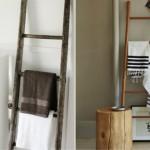 4-suport port prosop pentru baie din scari din lemn