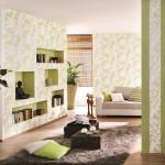 4-tapet-cu-imprimeu-vegetal-vernil-asortat-cu-pernutele-decorative-de-pe-canapea