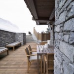 4-terasa exterioara cabana lemn la bergerie alpi franta