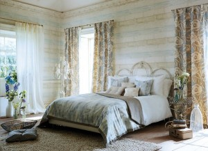 4-textile amenajare dormitor matirmonial cu note rustice