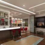 4-tipuri diferite de pardoseli pentru living si bucatarie open space