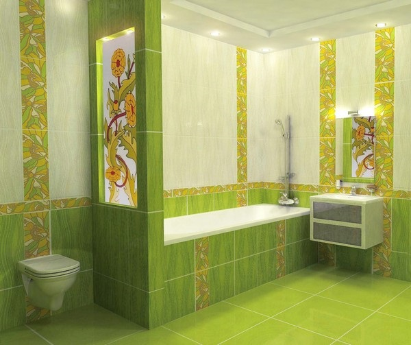 4-toaleta vas wc separat de cada prin intermediul unui perete decor Feng Shui baie