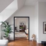 4-toc negru pentru usa de interior alba amenajare apartament stil scandinav