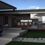 4 fatada casa structura metalica - Vision House