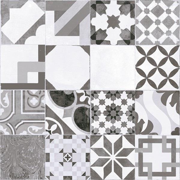 Gresie faianta universala Mosaico Gris model decorativ Dedeman