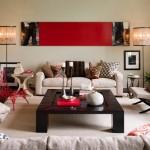 5-accente decorative rosii decor living modern