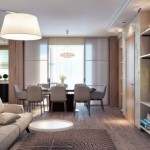 5-amenajare living modern multifunctional cu loc de luat masa