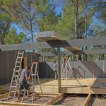 5-asamblare casa modulara pasiva Pop-Up House