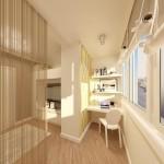 5-balcon apartament transformat in birou si spatiu de lucru
