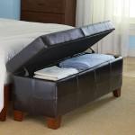 5-bancuta cu lada depozitare amenajare spatiu de la picioarele patului din dormitor