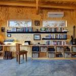 5-biblioteca si birou de lucru casa mica 32 mp amenajata minimalist
