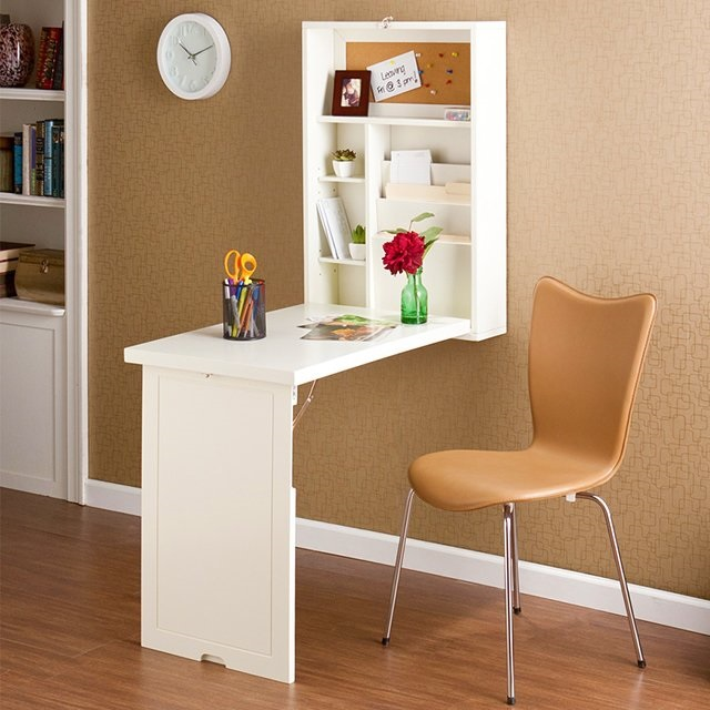 5-birou rabatabil montat pe perete design minimalist