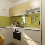 5-bucatarie moderna mica de 6 mp cu mobila in forma literei L