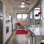5-bucatarie si living open space casa modulara prefabrciata de 31 mp proiect Nova Deko