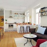 5-bucatarie si living stil scandinav amenajate in plan deschis
