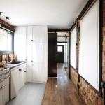 5-bucatarie stil industrial accente vintage apartament doua camere masculin