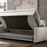 5-canapea Loop in timpul transformarii in pat supraetajat marca Pozzi