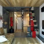 5-canapea asortata cu parchetul din living amenajare moderna